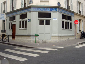 Ecole internationale privée Claude BERNARD à Paris